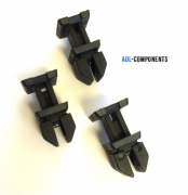 10x TRIM STRIP COVER CLIPS MERCEDES BOOT A B C E CLASS 124  CLASS